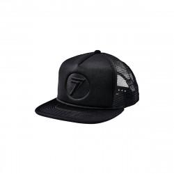 HAT SEVEN MX STAMP IT BLACK