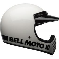 Bell Moto-3 - Gloss White