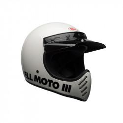 HELMET Bell Moto-3 Gloss White