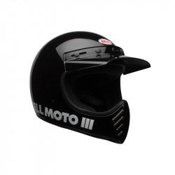 HELMET Bell Moto-3 Gloss Black